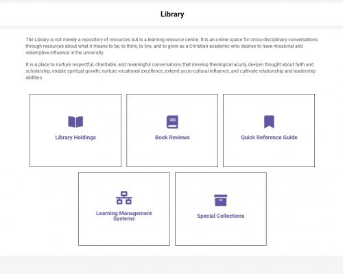 Library Screen shot 1